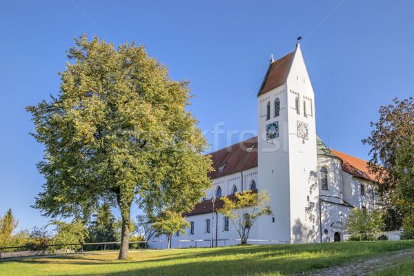 Monastero immagine Germania estate cielo blu cielo Foto d'archivio © w20er