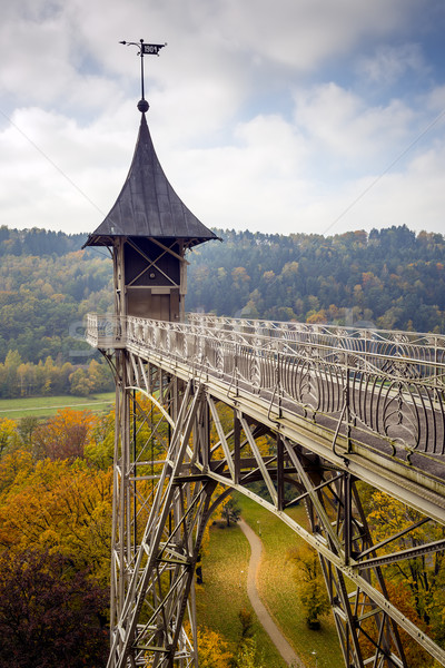 Elevator in Saxony Switzerland Stock photo © w20er
