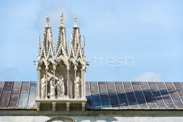 Detail Camposanto Monumentale Stock photo © w20er
