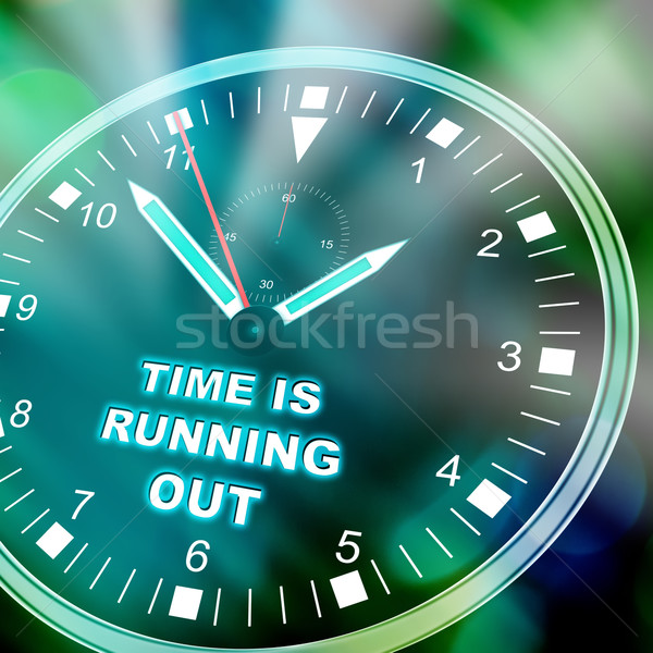 Time is running out Stock photo © w20er