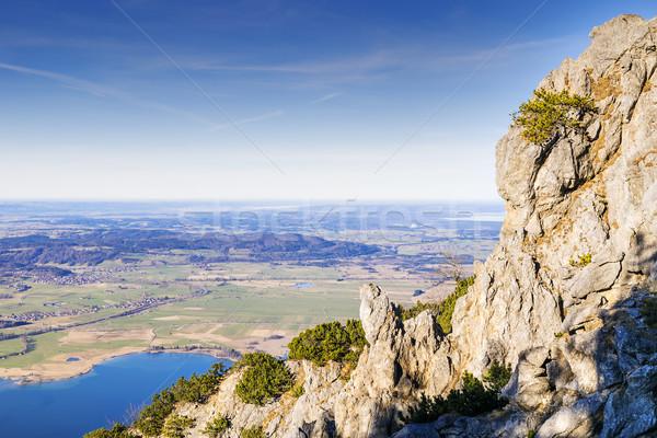 View from Jochberg in Bavaria Alps Stock photo © w20er