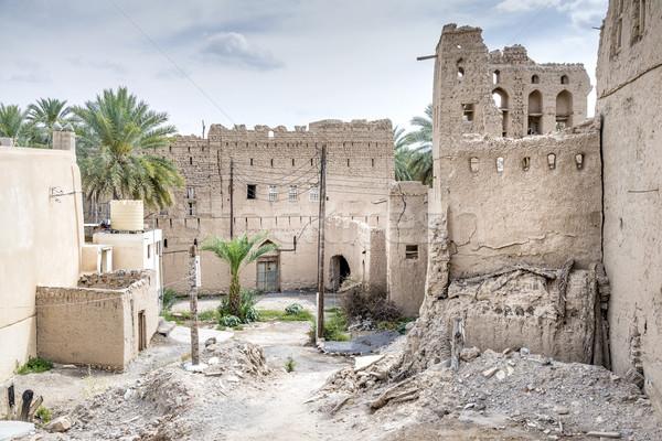 Ruins Birkat al mud Stock photo © w20er