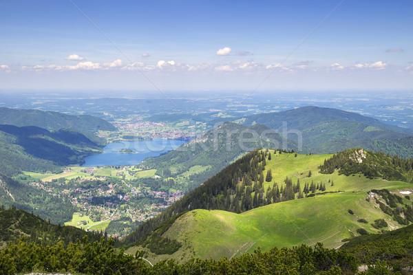 View from Jaegerkamp Bavaria Alps Stock photo © w20er