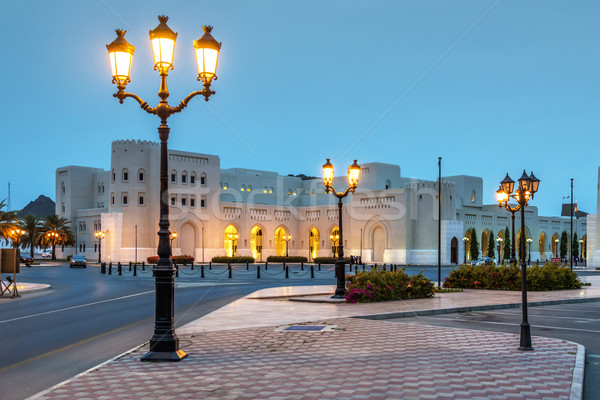 Night scene Muscat Stock photo © w20er