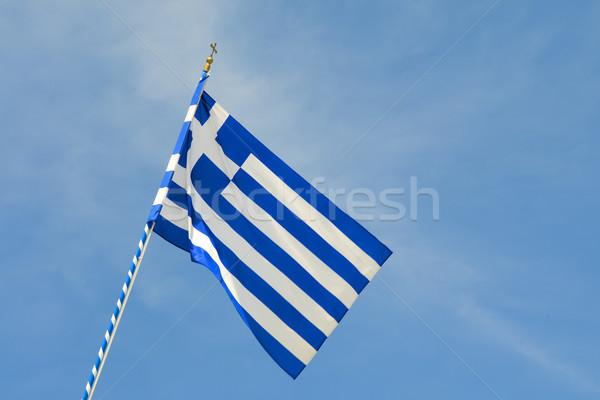 Greece flag Stock photo © w20er