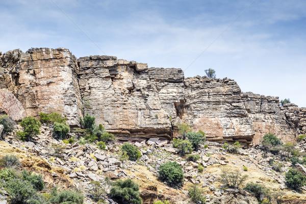 Kövek fennsík kép Omán út természet Stock fotó © w20er