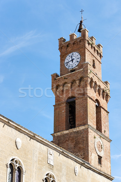 Palazzo Comunale Pienza Stock photo © w20er