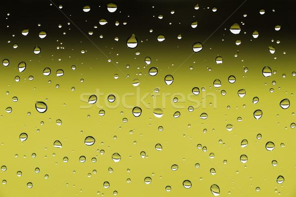 Vízcseppek ablak közelkép kép eső víz Stock fotó © w20er