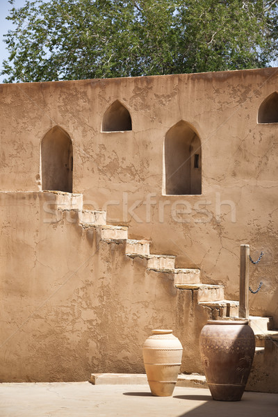 Fort immagine castello pietra storia torre Foto d'archivio © w20er