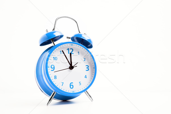 Blue alarm clock Stock photo © w20er