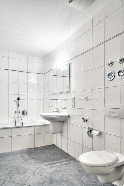White Bathroom Stock photo © w20er