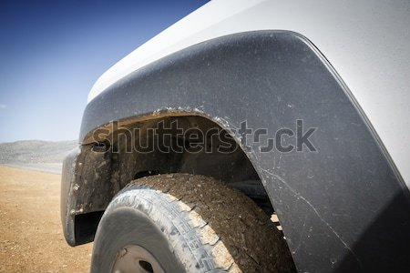 closeup off road car Stock photo © w20er