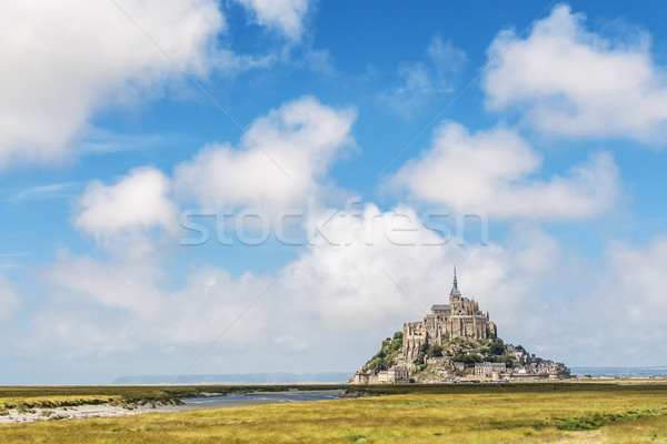 Mount St Michel in Normandy Stock photo © w20er
