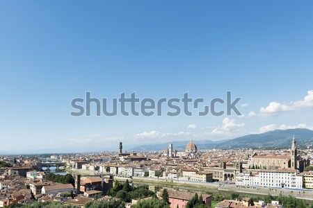 City view Florence Stock photo © w20er