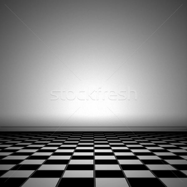 Illustration of tiled floor Stock photo © w20er