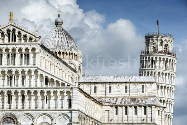 Cathedral Santa Maria Assunta and Leaning Tower of Pisa Stock photo © w20er