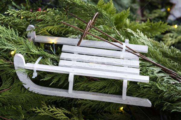 украшение слайдов Рождества рынке изображение бизнеса Сток-фото © w20er