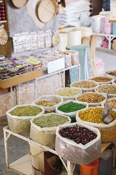 Nuts, spices and pulses Nizwa Stock photo © w20er