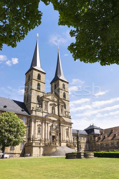 монастырь изображение здании город Церкви путешествия Сток-фото © w20er