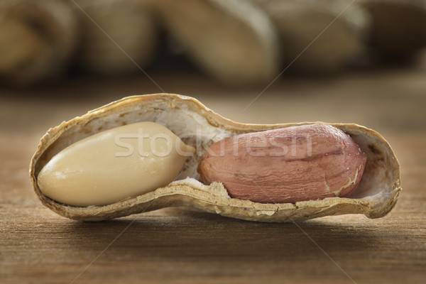 Peanut on a table Stock photo © w20er