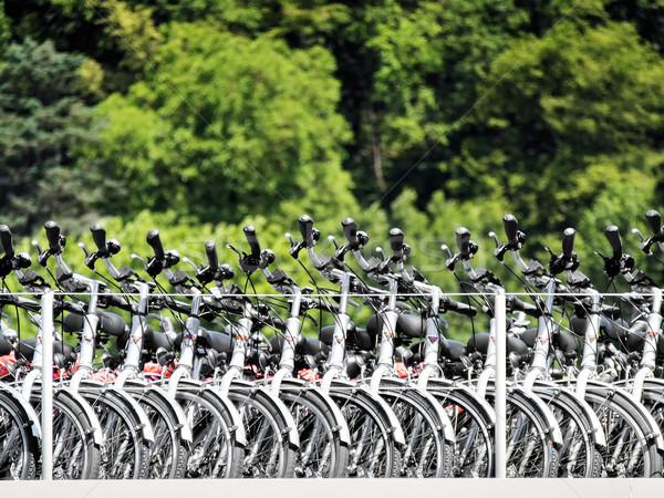 Bicycles on passenger ship Stock photo © w20er