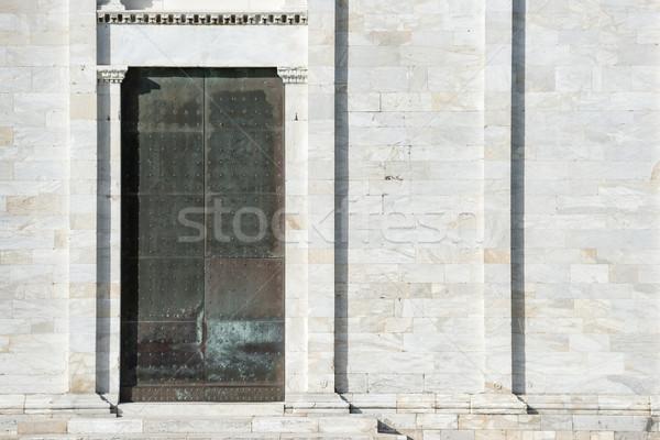 Door Camposanto Monumentale Stock photo © w20er