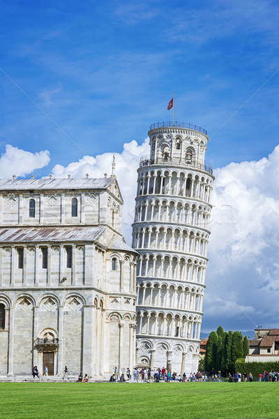 Leaning Tower of Pisa Stock photo © w20er