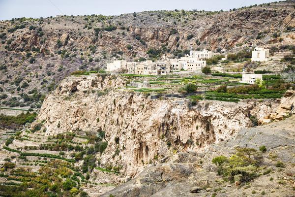 Umman plato görüntü manzara yol doğa Stok fotoğraf © w20er
