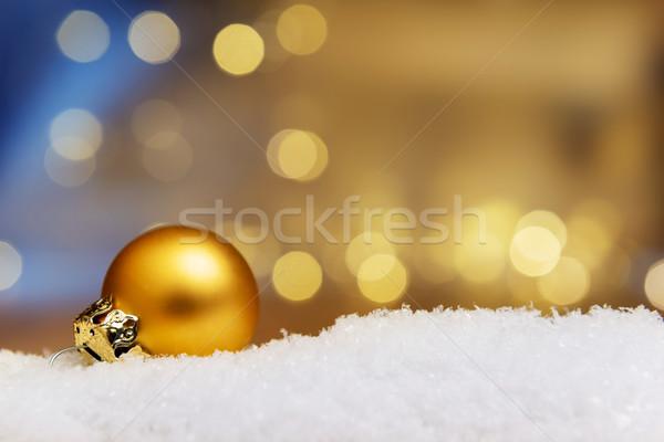 安物の宝石 雪 画像 人工的な ぼけ味 ストックフォト © w20er