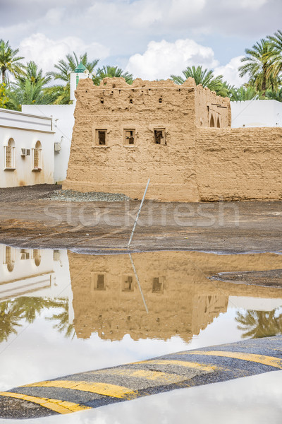 Buildings Oasis Al Haway Stock photo © w20er