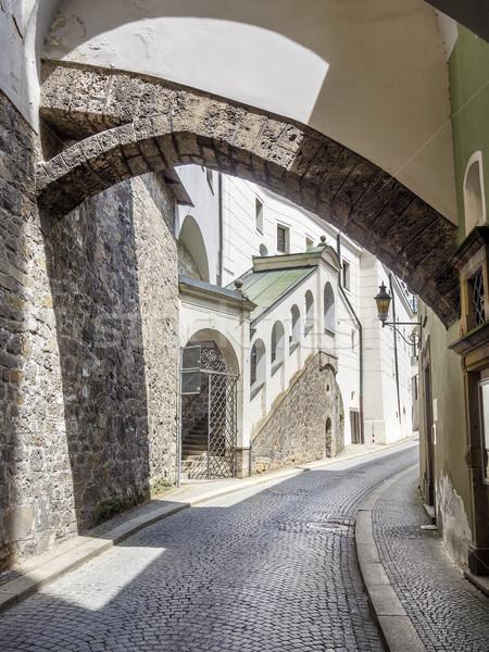 Narrow street Passau Stock photo © w20er