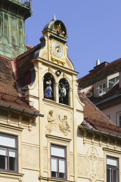 Historic Glockenspiel Graz Austria Stock photo © w20er