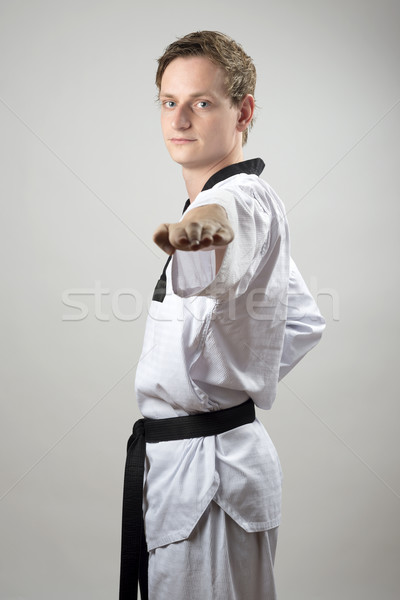 Taekwon-Do hand technique Stock photo © w20er
