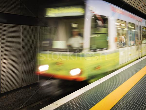 driving metro Stock photo © w20er
