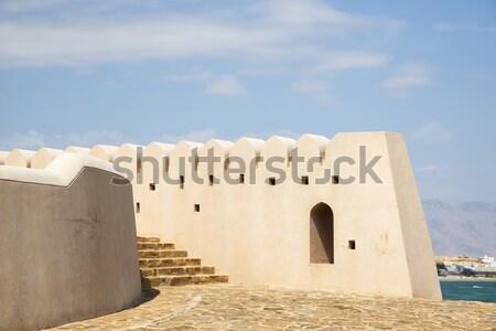 砦 画像 町 ツリー 青 旅行 ストックフォト © w20er
