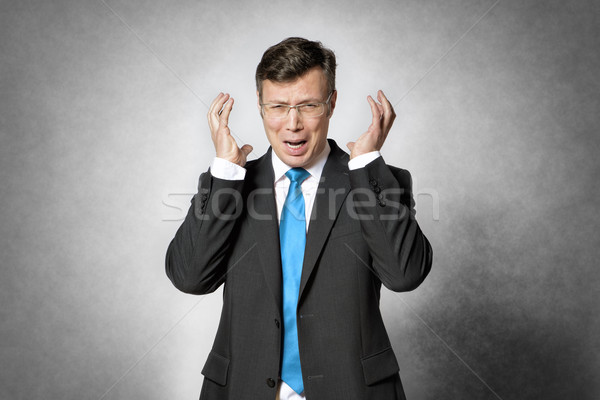 Frustrated business man Stock photo © w20er