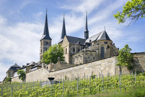 Monastery St Michael Bamberg Stock photo © w20er