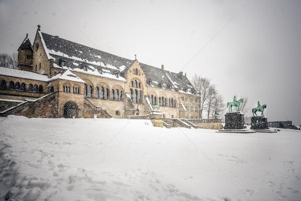 Imperial Palace Goslar Stock photo © w20er