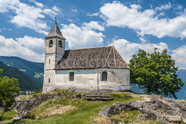chapel in south tirol Stock photo © w20er