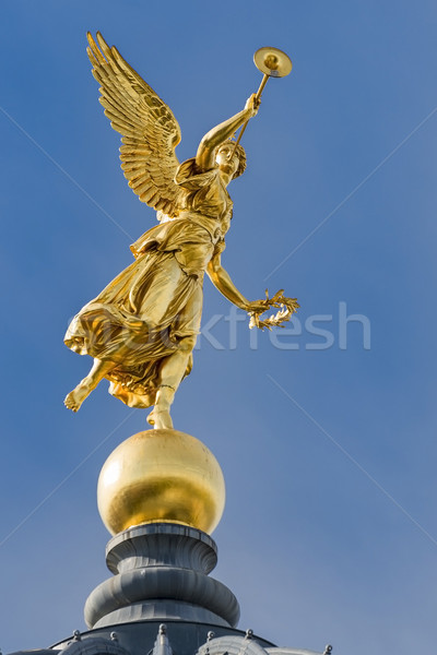 Golden Angel Dresden Stock photo © w20er
