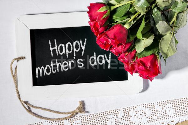 slate blackboard mothers day Stock photo © w20er