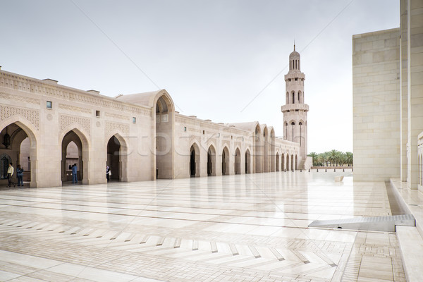 Grand Sultan Qaboos Mosque Stock photo © w20er
