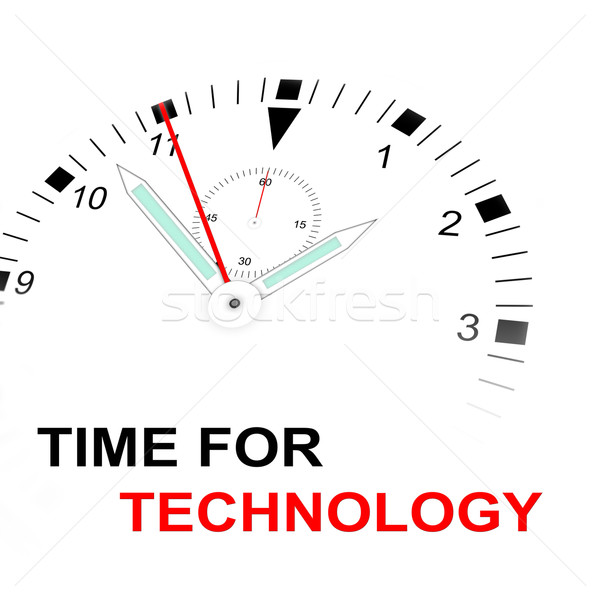 TIME FOR TECHNOLOGY Stock photo © w20er