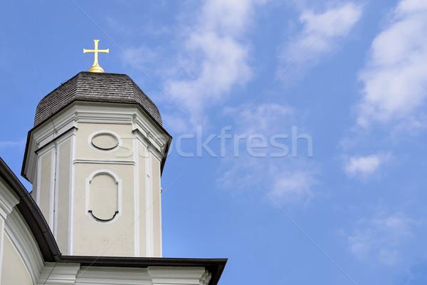 Peregrinação igreja quadro Alemanha livre espaço Foto stock © w20er
