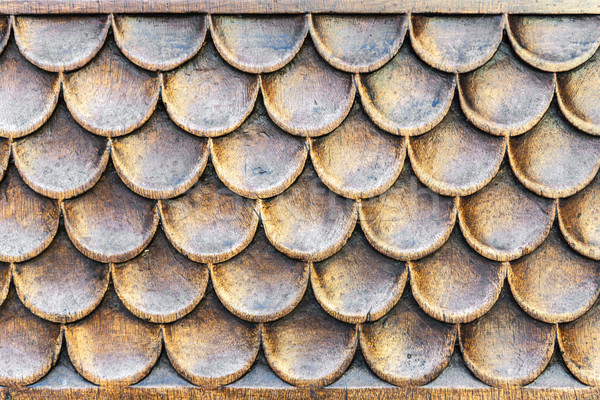 Houten structuur deur kerk Toscane Italië Stockfoto © w20er