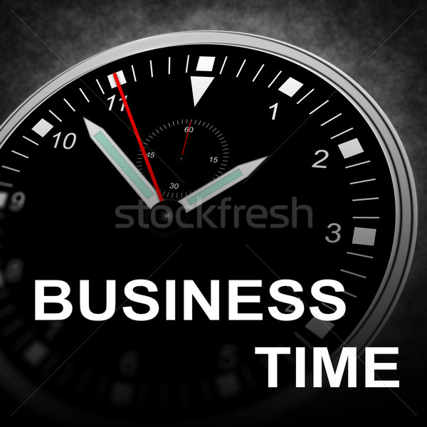 BUSINESS TIME Stock photo © w20er
