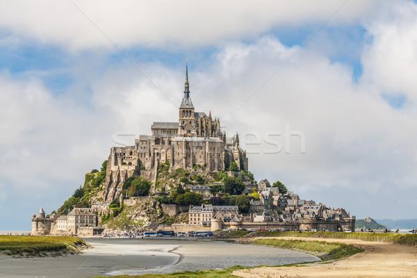 Normandia ver França céu rocha castelo Foto stock © w20er