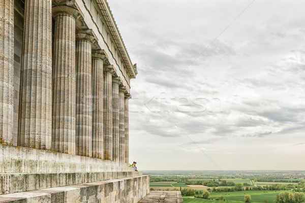 Walhalla with landscape Stock photo © w20er