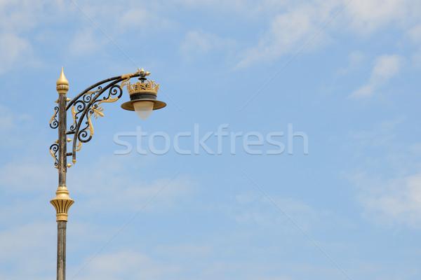 Oman street lamp Stock photo © w20er