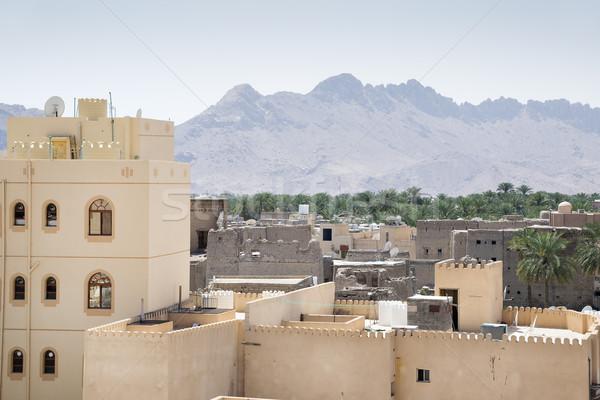 мнение форт города здании стены пейзаж Сток-фото © w20er